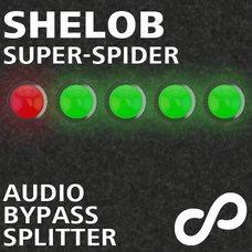 Shelob Audio Bypass Splitter