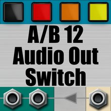 A/B 12 Audio Out Switch