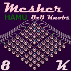 Mesher-8K - CV Knobs Mix Panel