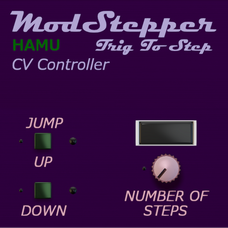 ModStepper - Trig To Step CV Mod Level