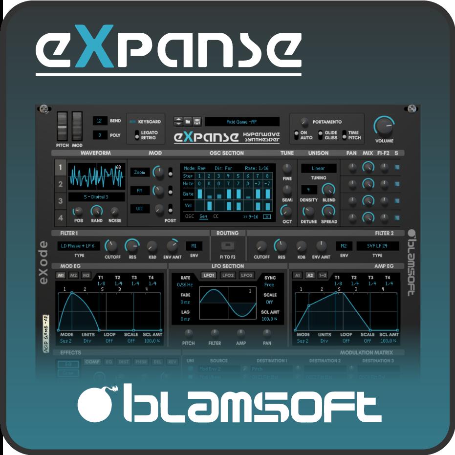 Expanse Hyperwave Synthesizer