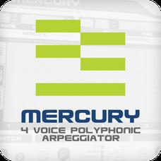 Mercury 4 Voice Polyphonic Arpeggiator