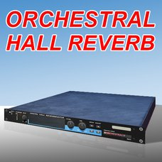 Digital Hall Reverb with Orchestral Card
