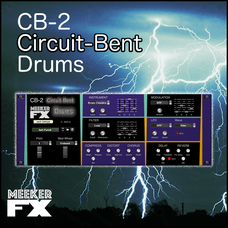 CB-2 Circuit-Bent Drums Synthesizer