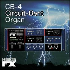 CB-4 Circuit-Bent Organ Synthesizer