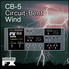 CB-5 Circuit-Bent Wind Synthesizer