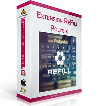 Extension ReFill-Polysix