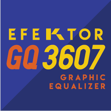 Efektor GQ3607 Graphic Equalizer