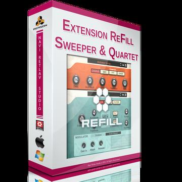 Extension ReFill - Sweeper & Quartet