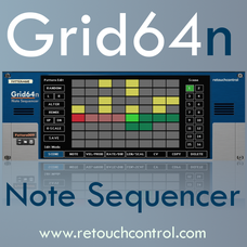 Grid64n Monophonic Note Sequencer
