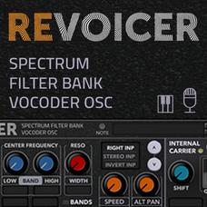 ReVoicer Filter-Bank Vocoder Osc