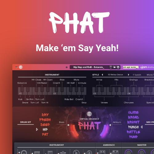 Virtual Drummer Phat