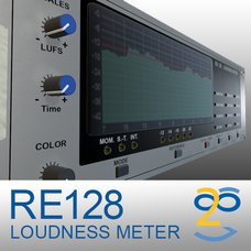 RE 128 Loudness Meter