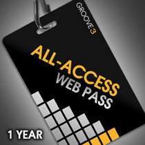 Groove 3 - One Year All-Access Web Pass