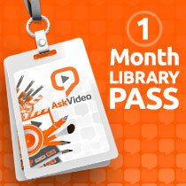 AskVideo One Month Library Pass