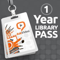 AskVideo One Year Library Pass