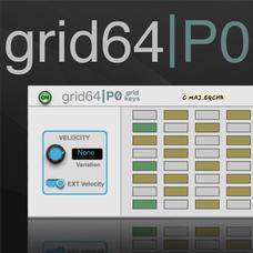 Grid64P0 Keyboard Player
