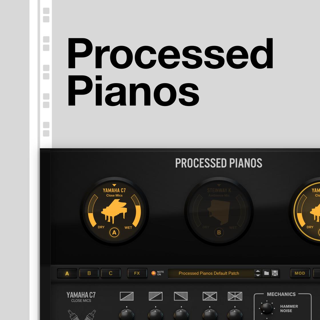 Processed Pianos