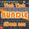 Tick Tick BOOM 808 Drum Machine Bundle